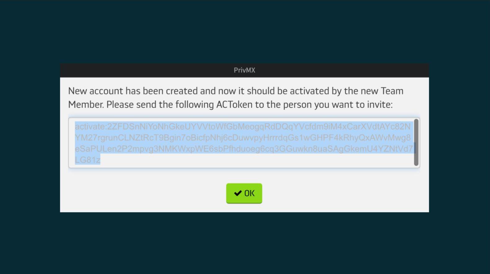 PrivMX interface