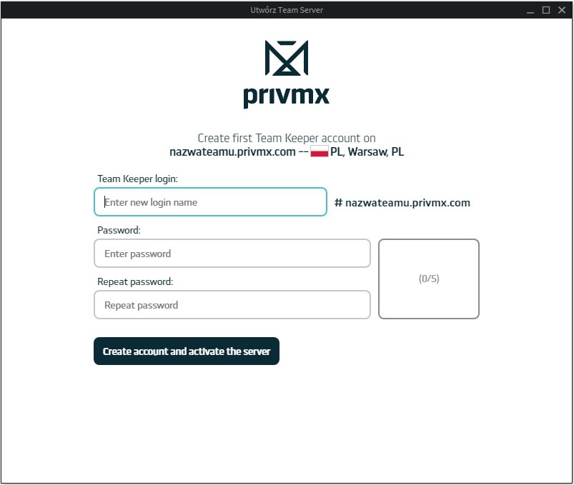 PrivMXinterface