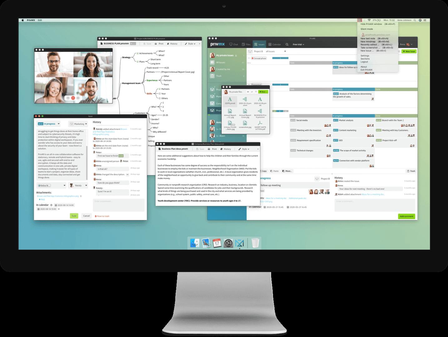 PrivMX screenshot - marketing materials